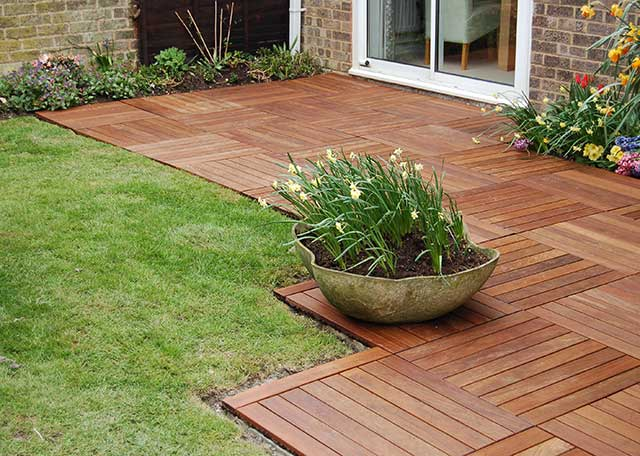 Patio Paving System