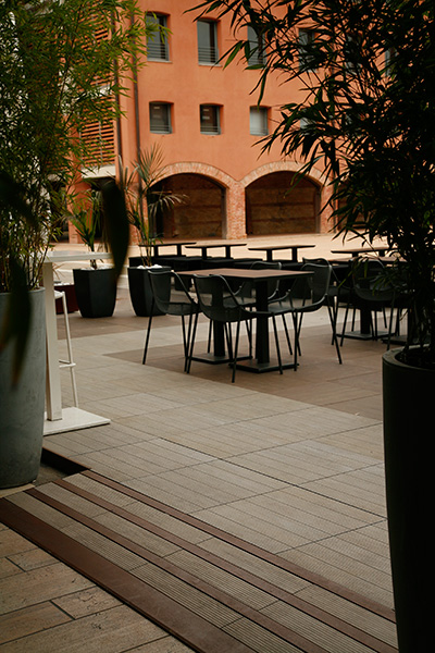 Images Of Roof Terrace And Balcony Flooring Installations