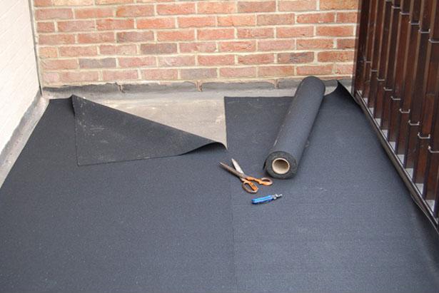 монтаж гидроизоляции на террасе и балконе
